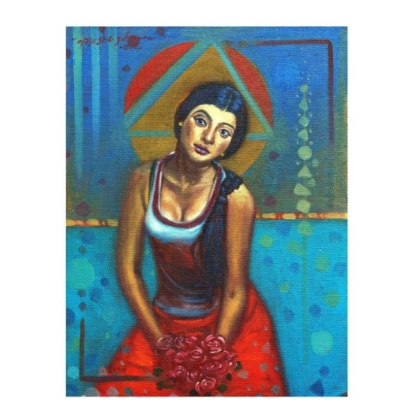 Separation 06 | Oil On Canvas Painting by Yogesh Sutar | 12x18
