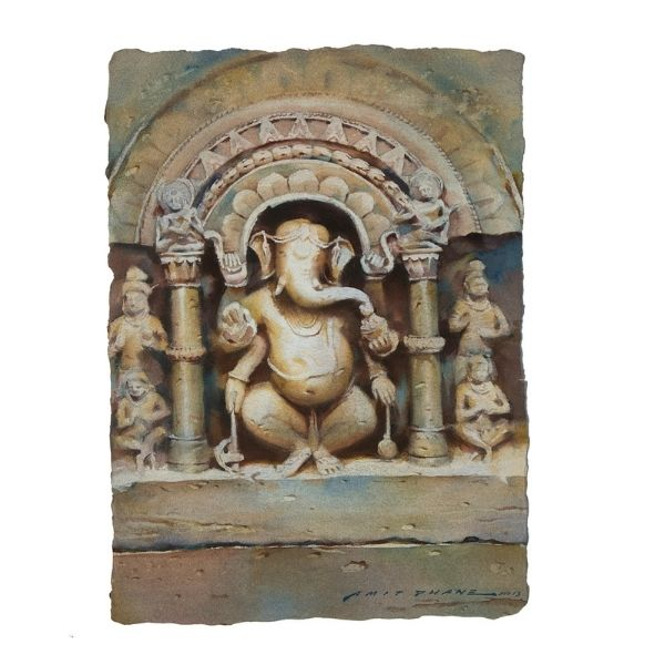 ganesha-watercolor-painting-by-amit-dhane-14-6x20