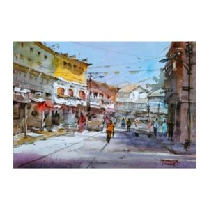 watercolor-6-painting-by-mahesh-mankar-11x15