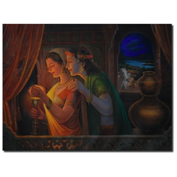 | Oil Painting By Hari Om Singh | 24x36