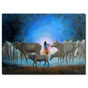 Holy Cow Paintings For Sale