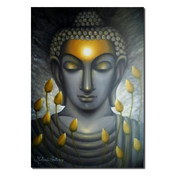 dhyan-oil-on-canvas-painting-by-madhumita-34x48