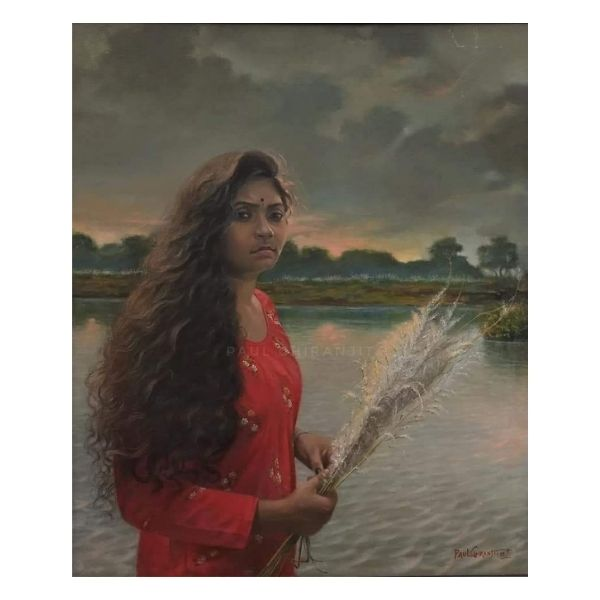 evening-light-oil-on-canvas-paintings-by-chiranjit-paul-30x36