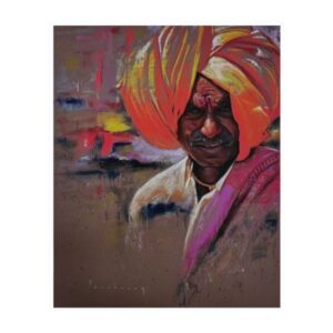 pilgrim-color-pencil-dry-pastel-artwork-by-parshuram-patil-25x20