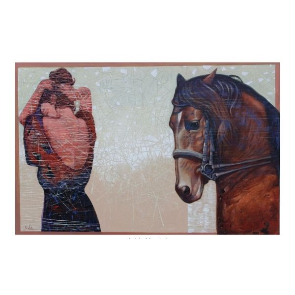the-horse17-acrylic-on-canvas-painting-by-ashis-mondal-40x60
