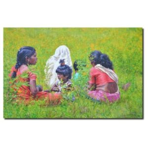 relax-in-nature-oil-painting-by-ramdas-lobhi-30x-48