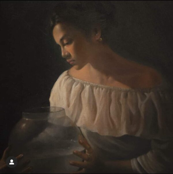 solitude-classical-realism-oil-on-canvas-paintings-by-chiranjit-paul-30x36