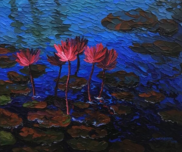 pink-lotus-acrylic-on-canvas-painting-by-shraddha-more-30x36