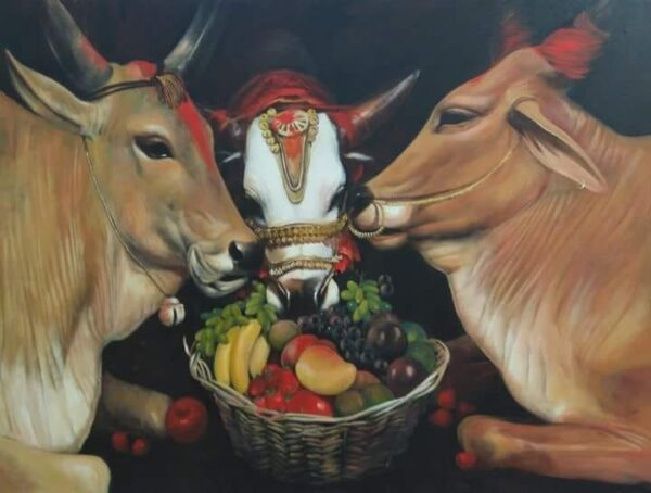 quality-time-3-acrylic-on-canvas-by-jiban-biswas-30x36