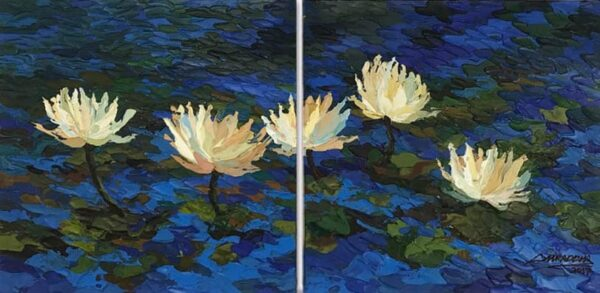 sacred-lotus-acrylic-on-canvas-painting-by-shraddha-more-18x36