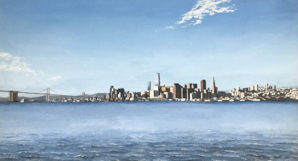San Francisco Skyline | Oil Painting by Chikita Patel | 54x30