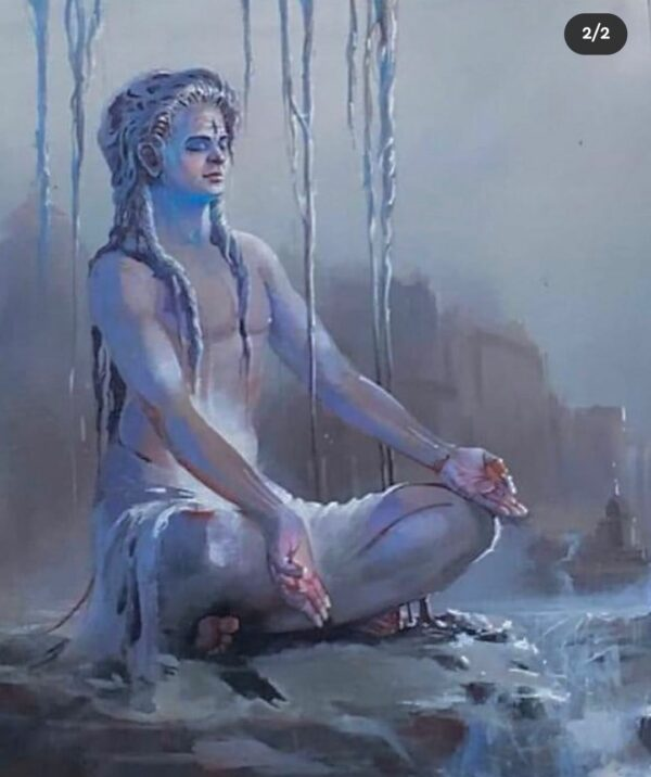 shiva-acrylic-on-canvas-painting-by-bijay-biswaal-30x36