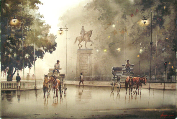 TO START IN EVENING-2 | WATER COLOUR |  29X41