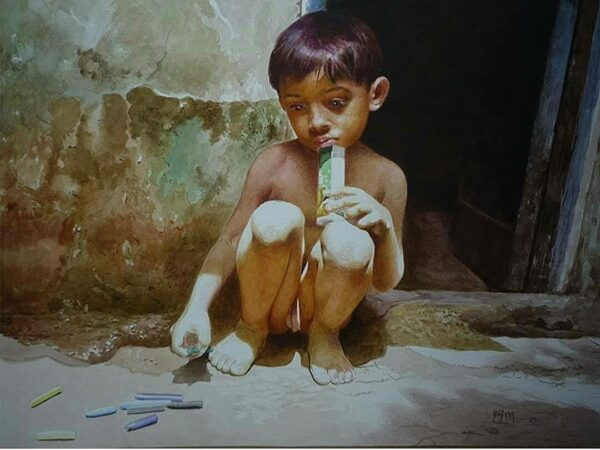 watercolor-painting-by-raghunath-sahoo-22x28