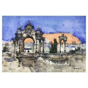 FISHERMAN'S BASTION BUDAPEST | Watercolor Painting | 14X20