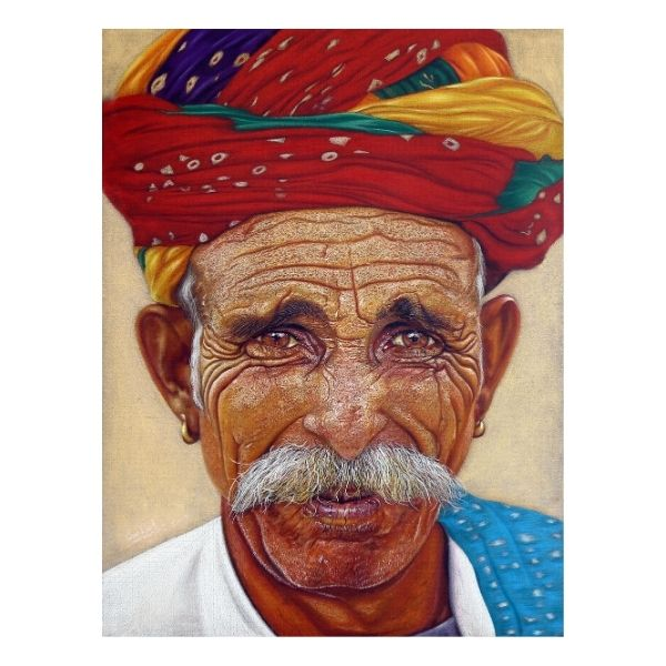expressions...20x26inch Color Pencil on paper