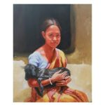 The Affections   Acrylic On Canvas Painting by Satyabrata Karmakar   36×30