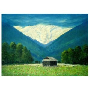 Manali | Oil Painting | 35×25.5