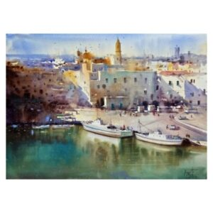 Boats of Italy_75X55cm