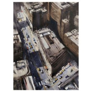 NEW YORK | Watercolor Painting | 15×22