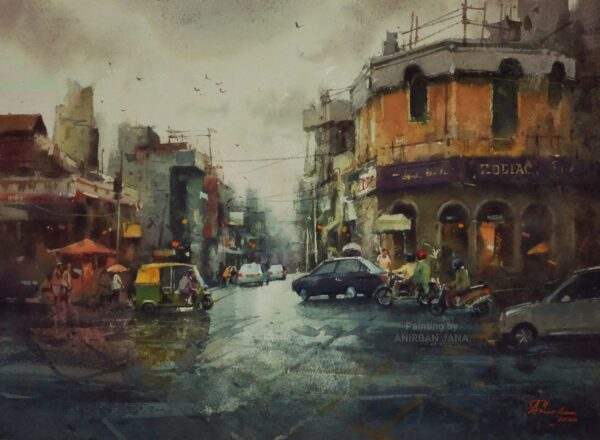 Aj -12 | Watercolor Painting by Anirban Jana | 11×15