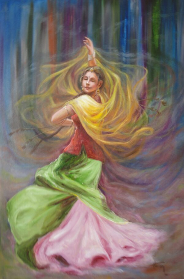 | Oil Painting By Hari Om Singh | 36x24