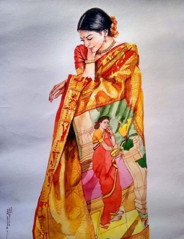 SM-02 | Watercolor Painting by Shreenivas | 30x22