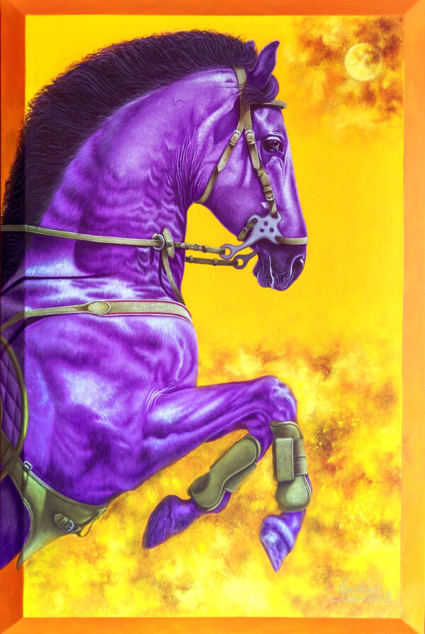 Unstoppable... I 24x36inch Acrylic on linen