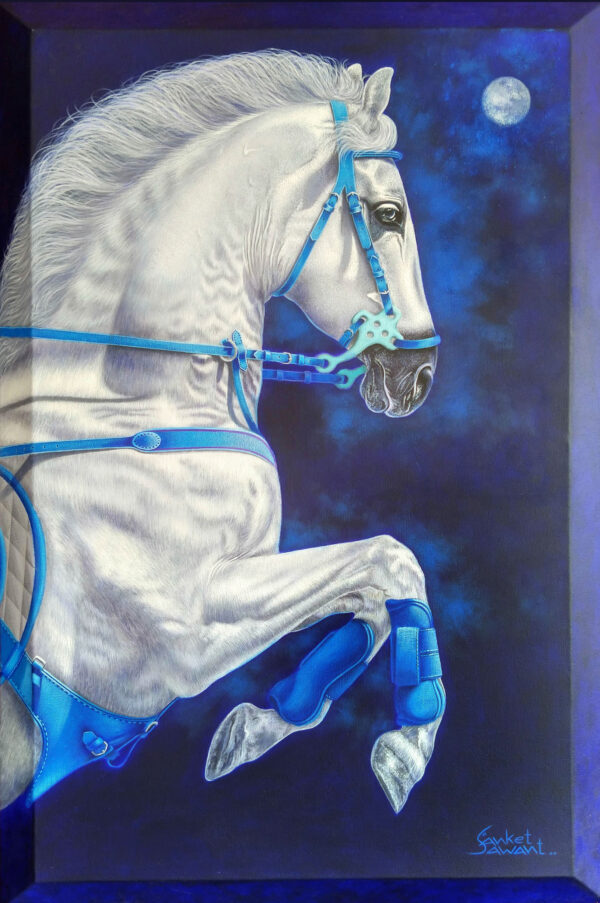 Unstoppable...24x36inch Acrylic on linen