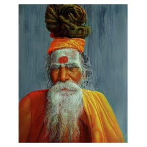 Sadhu – Acrylic On Canvas – 48×60