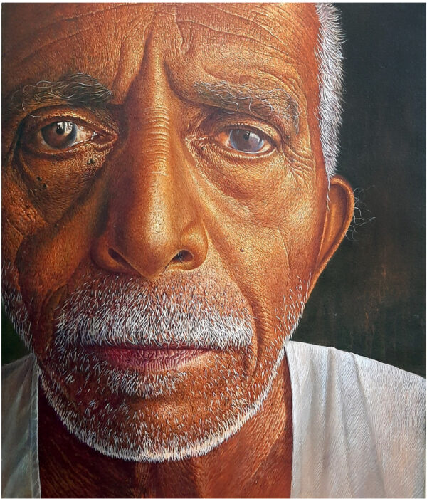 Expression – Acrylic On Canvas – 30×36