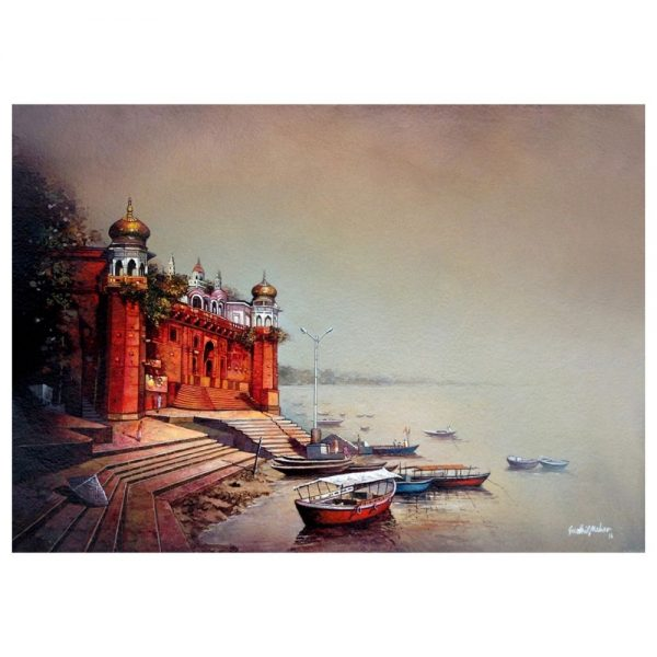 BANARAS – 22X30 – Acrylic on paper