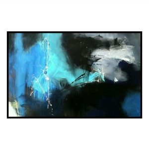 Space Series 18 - Acrylic On Canvas - 70x46 inch