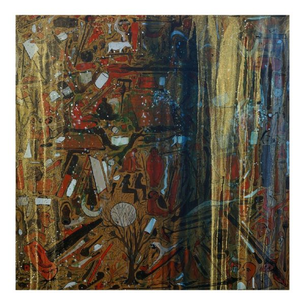 Muse Series - 72x72 inch - Acrylic On Canvas
