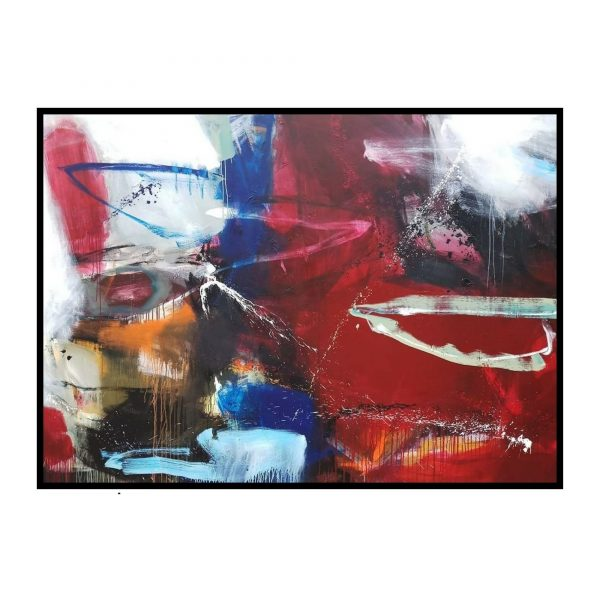 Space Series 4 - Acrylic On Canvas - 120x84 inch