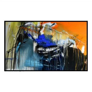 Space Series 2 - Acrylic On Canvas - 84x42 inch
