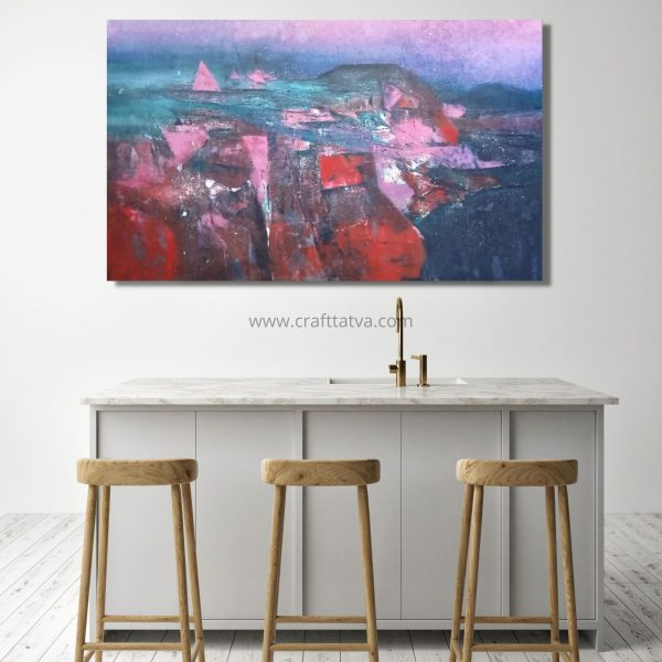 The Part of Nature - Acrylic On Canvas - 36x60 inch