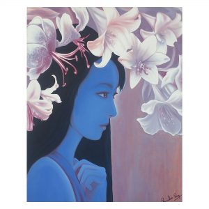 Beauty and Nature 5- Oil On Canvas - 2x2.3 feet