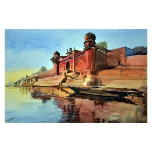 Rajib Agarwal - Watercolor on Chitrapat Matt Paper - 15x22 inch