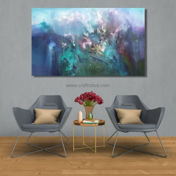In Between - Acrylic On Canvas - 36x60 inch