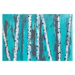 Topic - Alluring Blue | Acrylic on canvas | Size - 24″ X 16″ inch