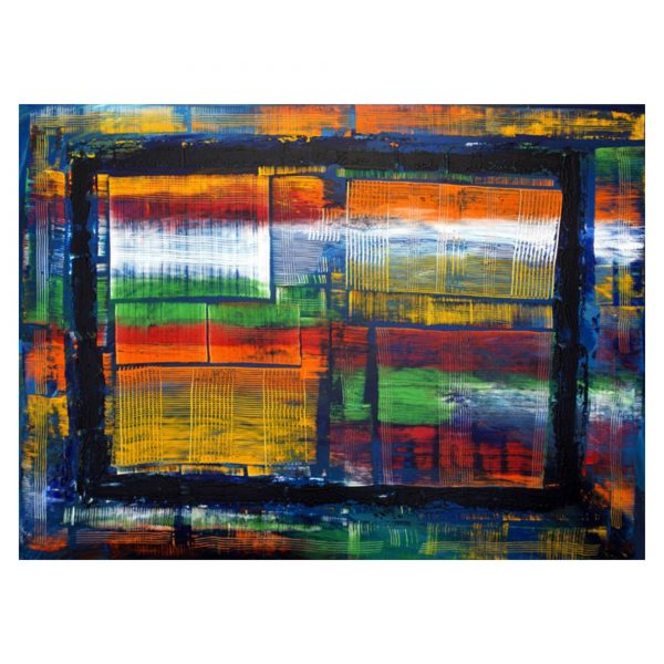 Abstract 4 - Acrylic on canvas - 4X3 ft.