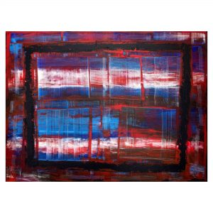 Abstract 2 - Acrylic on canvas - 4X3 ft.