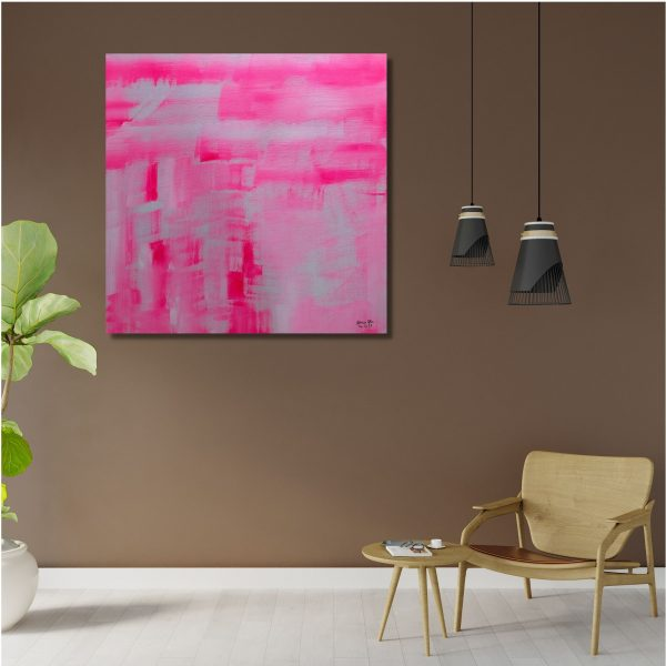 Revisiting The Past - Acrylic on Canvas - 24x24 (Inch.)