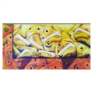 Motion of Life (Vol 4)_Acrylic on Canvas_32x64 (Inch)