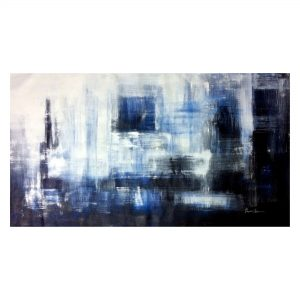 Night in the City_Acrylic on Canvas_26x48 (Inch)