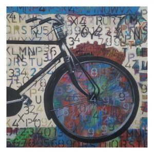 Cycle Experience 68-Acrylic on Canvas-36X36 Inch