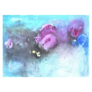 Monsoon Blooms_Acrylic on Paper_10x14 (Inch)
