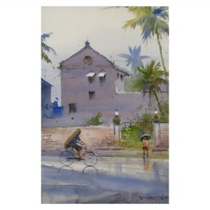 Monsoon Mood (Vol 3)_Watercolor on Paper_22x14 (Inch.)