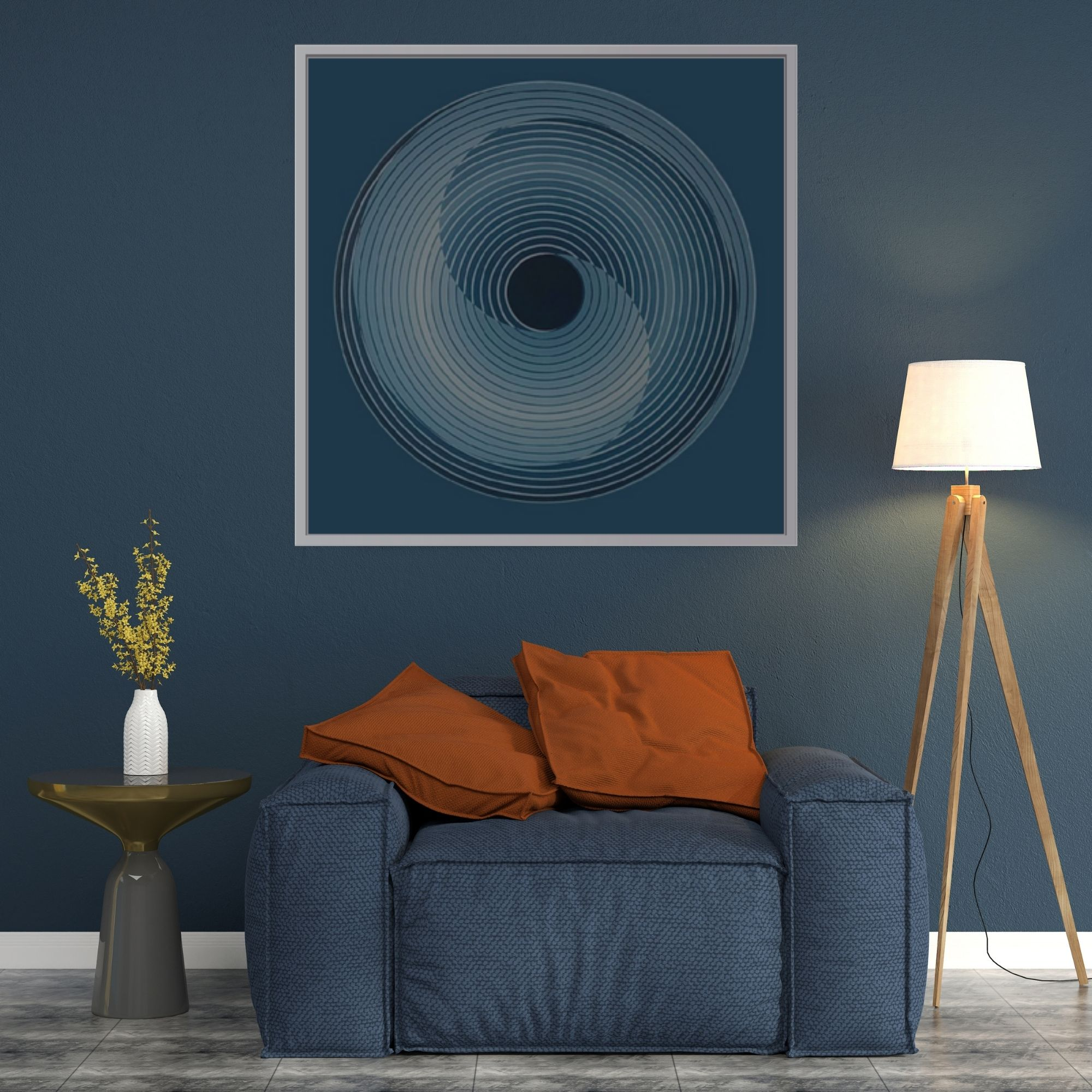 Circle Of Life (Vol 20)_Acrylic on Canvas_33x33 inches